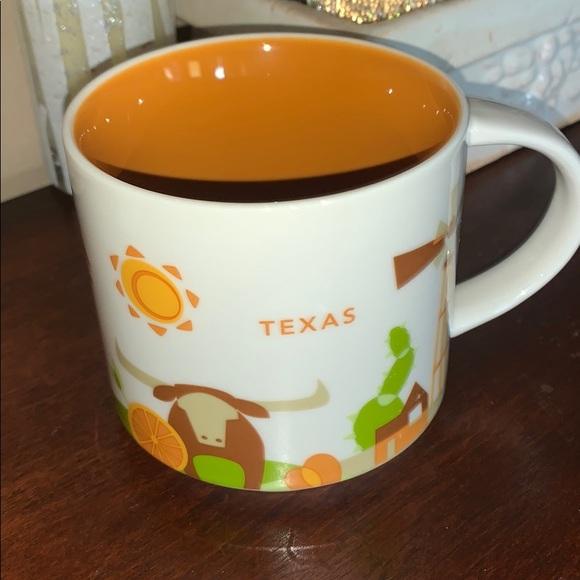 "Starbucks ""You Are Here"" 2015 TEXAS ceramic mug"